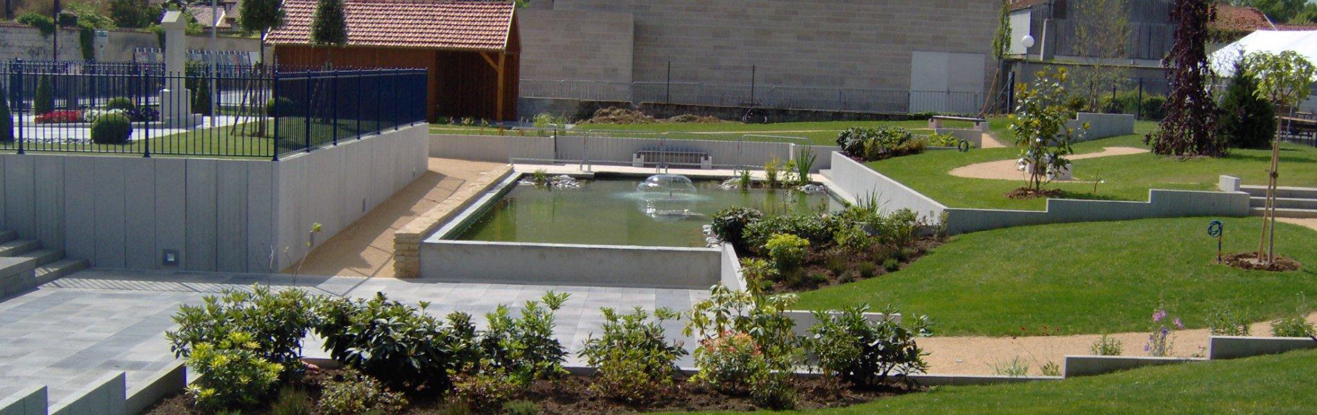 Les réalisations des Jardins Provoost